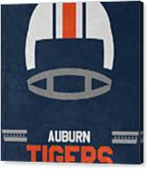 Auburn Tigers Vintage Football Art Canvas Print