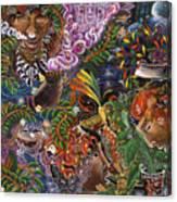 Auca Yachai Canvas Print