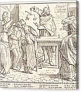 Auch Ein Todtentanz IIi Canvas Print