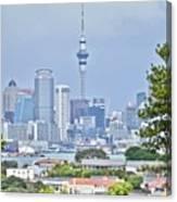Auckland City C B D Canvas Print