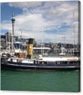 Auckland Harbour Canvas Print