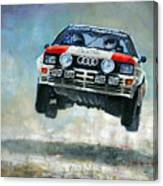 Audi Quattro Gr.4 1982 Canvas Print