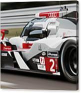 Audi R18 E-tron, Le Mans - 07 Canvas Print