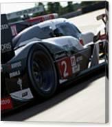 Audi R18 E-tron, Le Mans - 09 Canvas Print