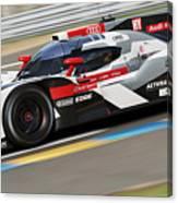 Audi R18 E-tron, Le Mans - 11 Canvas Print