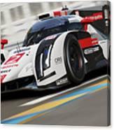 Audi R18 E-tron, Le Mans - 12 Canvas Print