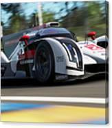Audi R18 E-tron, Le Mans - 14 Canvas Print