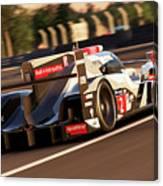 Audi R18 E-tron, Le Mans - 18 Canvas Print