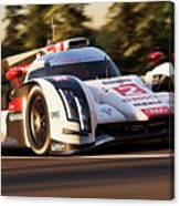 Audi R18 E-tron, Le Mans - 19 Canvas Print