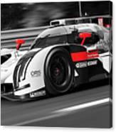 Audi R18 E-tron, Le Mans - 31 Canvas Print