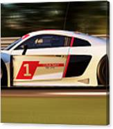 Audi R8 Lms - 15 Canvas Print