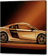 Audi R8 2007 Painting Canvas Print