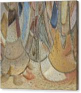 Audience For The Ceremonial Dancers Canvas Print