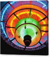Auditorium Neon Canvas Print