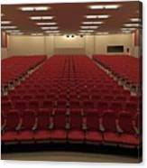 Auditorium Canvas Print