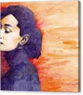 Audrey Hepburn 1 Canvas Print