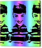 Audrey Hepburn Art Canvas Print