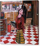 Audrey Horne Twin Peaks Resident Canvas Print