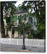Audubon House Key West Canvas Print