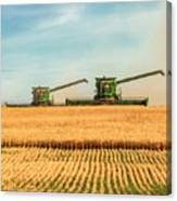 Augers Out Canvas Print