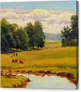 August Pastoral Canvas Print