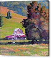 August Pastures Canvas Print