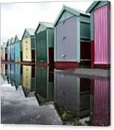 August Rains On The Promenade Canvas Print