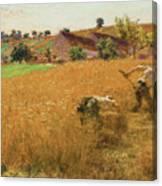 Augustin Lhermitte Canvas Print