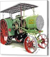 Aultman And Taylor Tractor Canvas Print