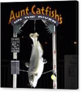 Aunt Catfish Canvas Print
