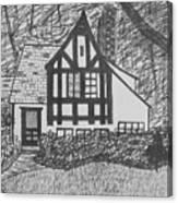 Aunt Vizy's House Canvas Print