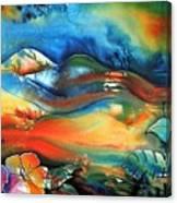 Aurora By Reina Cottier Canvas Print