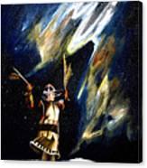 Aurora Dancer Canvas Print