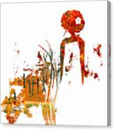 Aurora Orange Canvas Print