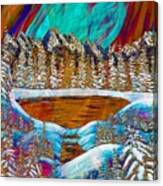 Aurora's Reflections Canvas Print