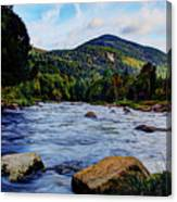 Ausable And Whiteface Canvas Print