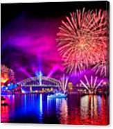 Aussie Celebrations Canvas Print
