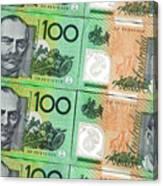 Aussie Dollars 09 Canvas Print