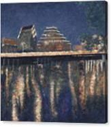 Austin At Night Canvas Print