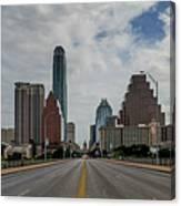 Austin From Congress Street Bridge Canvas Print