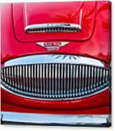 Austin-healey 3000mk II Canvas Print