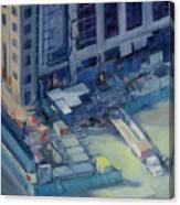 Austonian In Progress Canvas Print