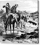 Australia: Cowboys, 1864 Canvas Print