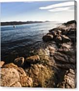 Australian Bay In Eastern Tasmania Canvas Print