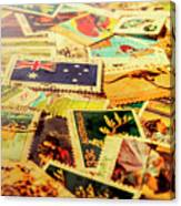Australian Postal Background Canvas Print