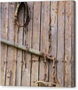 Austrian Barn Door Canvas Print
