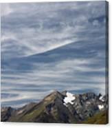 Austrian Sky Canvas Print