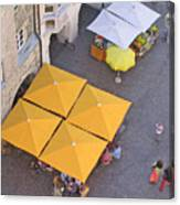 Austrian Street Scene Canvas Print