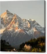 Austrian Sunrise Canvas Print