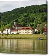Austrian Village Canvas Print